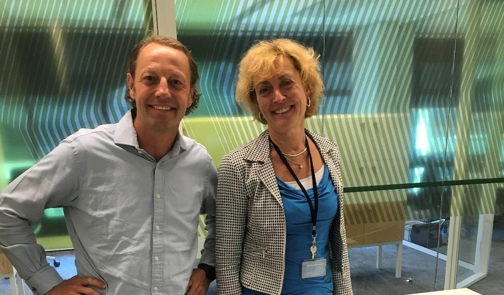 Mikkel Hofstee en Irene van den Broek